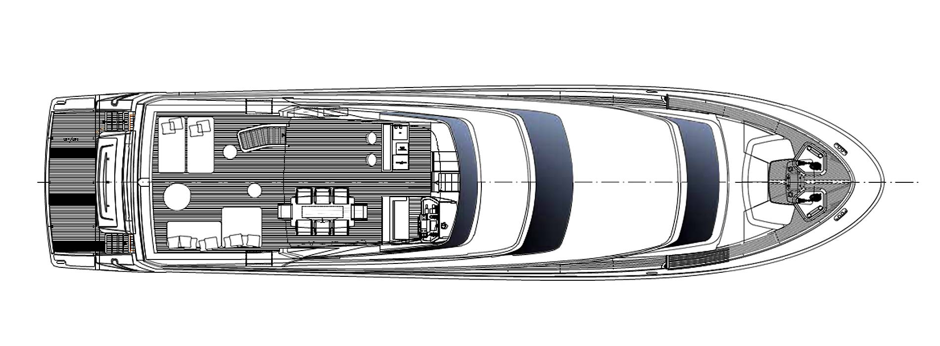 Sanlorenzo Yachts SL96-623 Flying bridge