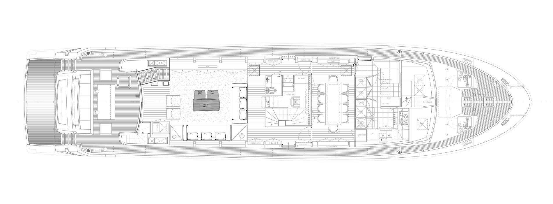 Sanlorenzo Yachts SL96-631 under offer Main deck